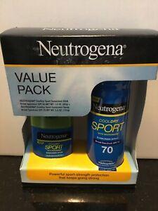 Neutrogena Value Pack | CoolDry Sport Sunscreen Stick + Spray | NIB