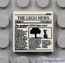 LEGO NEW White Mug with Decoration 2x 6213435 Brick 36728