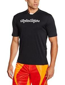 Troy Lee Designs Skyline Boys BMX Bike Jersey - Black / Small