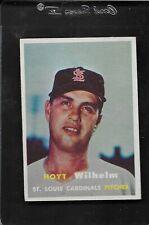 1957 Topps Hoyt Wilhelm HOF # 203 EX-MT to Near Mint 2