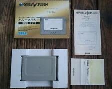 Sega Saturn cartucho de memoria memory cartridge tarjeta card boxed HSS-0111