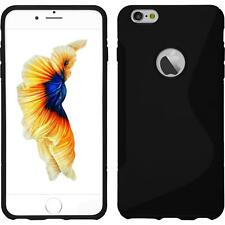 """TPU gel silicone case cover S-line black for Apple iPhone 6S Plus (5.5"""")"""