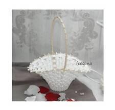 10 Streukörbchen Blumenkinder weiß Blumenkörbchen Braut Florist Wedding Planer