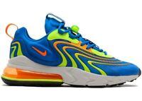 Nike Air Max 270 React ENG CD0113 401 Mens US 10 UK 9 Running Trainers Sneakers