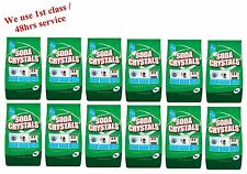 12x 1Kg Dri-Pak Soda Crystals For Household Cleaning Unblock Drains and More
