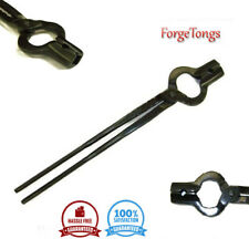Heavy duty 3/4 v bit bolt tong forge tongs power hammer bladesmithing blacksmith
