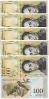 Venezuela - 100 pcs x 100000 Bolivares 2017 UNC bundle Lemberg-Zp