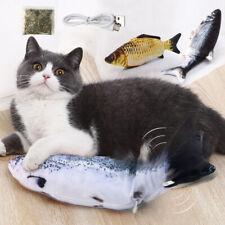 Elettrico Simulazione Interattivo Pesce giocattolo per Gatto Pet Con Catnip USB