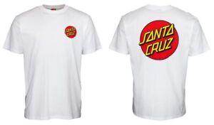 Santa Cruz T-Shirt Classic Dot White