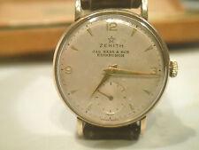 Vintage ZENITH Reloj de oro 9CT 375