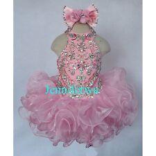 Jenniferwu Infant/toddler/kids/baby/children Girl's Pageant/prom Dress G284-3
