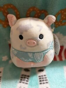 "NWT Kellytoy 5"" Rosie the Pig Squishmallow - Easter Squad 2021"