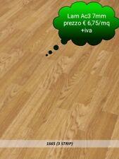 OFFERTA @Pavimento in Laminato Rovere Strip Confezione Da 2.47mq   7 mm AC3