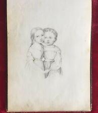 ARTIST MARTHE de JOUFFROY d'ABBANS SKETCH BOOK 1854-94 - SKETCHES & WATERCOLORS