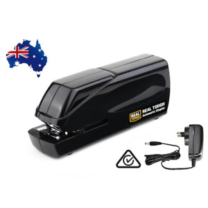 REAL TOUGH Automatic Electric Office Stapler - Battery / AC Adapter Powered