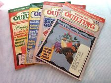 4 Creative Quilting Magazine July/ August & September 1996   March April  1995