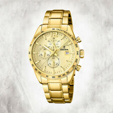 Edelstahl Herren Uhr F20266/1 Armbanduhr gold Chronograph UF20266/1 [FESTINA]