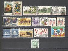 B9851 - STATI UNITI 1973 - LOTTO USATI DEL PERIODO DIFFERENTI - VEDI FOTO