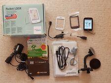 "Fujitsu Pocket LOOX N110 300MHz 2,8"" TFT GPS Microsoft CE RAM 64MB 2GB Mp3 OVP"