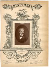 Lemercier, Paris-Théâtre, Jules-Louis-Olivier Métra (1830-1889), compositeur et