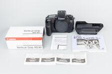 Canon EOS 5 35mm SLR Film Camera Body w/ Grip, Black, Auto Focus, EOS-5