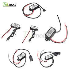 6 Types DC-DC 12V à 5V Mini/Micro/A USB Convertisseur Step Down Power Adapter