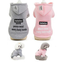 Winter Dog Cat Warm Coat Cotton Dog Apparel Puppy Clothes Jumpsuit Puppy Outfit