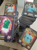 Match Attax 101 bundle job lot ALL DIFFERENT 50-150 card bundles inc 100 club