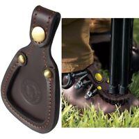 Toe Protector Leather Rest Pad Shooting Clay Hunting Barrel Trap Shotgun Guard