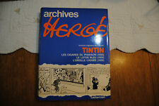 ARCHIVES HERGE TINTIN TOME 3   1979
