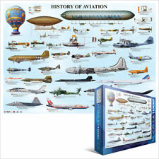 Eurographics History of Aviation 1000 Pieces Jigsaw Puzzle # 60000086