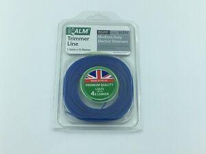 ALM SL215 1.5mm x 15M Blue Trimmer Strimmer Line  Cord Flymo Bosch