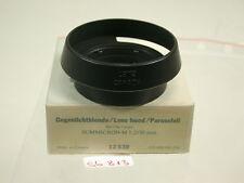 Original Leica Leitz Sonnenblende Lens Shade Hood Aufsteck Push-on A42 42 (6)