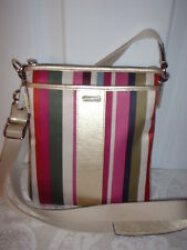 NWT Coach Legacy Stripe Swingpack Handbag Crossbody 48615