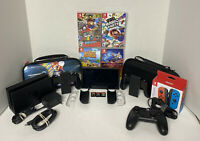 WOW! 7 Games! Nintendo Switch 64GB Console Mario Party Animal Crossing Bundle
