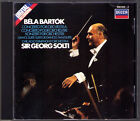 Sir Georg SOLTI: BARTOK Concerto for Orchestra Dance Suite 1982 DECCA CD Chicago