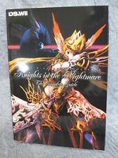 KNIGHTS IN THE NIGHTMARE Complete Guide Art Book DS Wii MW74*