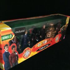 Doctor Who 6 Figure GIFT SET Action Figure Dr Who EXCLUSIVE BBC SERIES 3 Toys