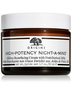 OriginsHigh-Potency Night-A-Mins Oil-Free Resurfacing Cream 1.7 oz New in Box