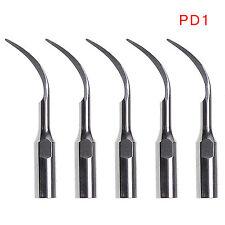 5pcs Dental Ultrasonic Scaler Perio Scaling Tip fit Satelec/DTE Handpiece PD1