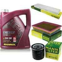 Inspektionspaket 5L MANNOL Energy CombiLL 5W30 Motoröl + MANN Filterset 10769031