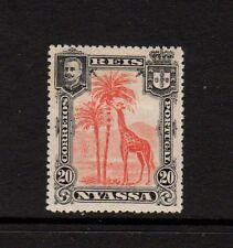 NYASSA Company 1901 20R Rouge & Noir Girafe Mounted Comme neuf