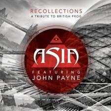 Asia Feat John Payne - Recollections: A Tribute To British Prog (NEW CD)