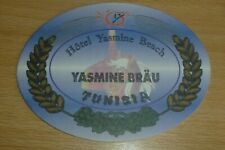 CA. TUNIS OLD BEER COASTER