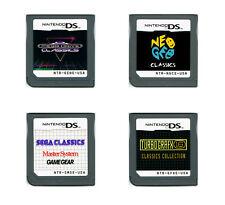 Genesis Master System Game Gear Neo Geo Turbografx 16 Nintendo DS 3DS multicart