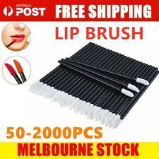 50/100/500/1000 Disposable Lip Brush Lip Wands Gloss Lipstick Applicator Brushes