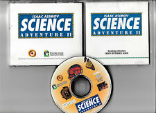 ISAAC ASIMOV SCIENCE ADVENTURE 2: VINTAGE PC  GAME ON CD