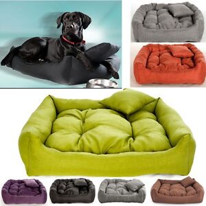 Luxury Soft Comfy Dog bed Cat Pet Warm Sofa Bed Cushion Extra LARGE up to 130cm