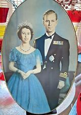 Rare: 1953 Prince Phillip &Queen Elizabeth Coronation Biscuit Tin Carr&Co.