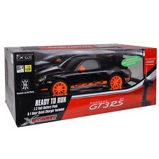 Porsche 911 GT3RS Electric R/C Car by Xstreet (Black) 1:10 Scale, Licensed NIB